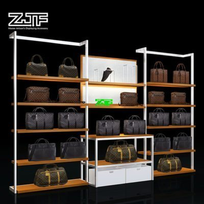 Luxury metal frame bag display props combination