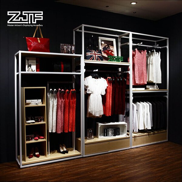 Heavy duty functional standing clothing racks for sale